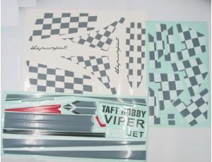 THVIPERDECAL 300x230 taft hobby viper v4 red 90mm edf jet 6s 8s ir pnp version  at reclaimingppi.co