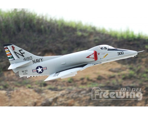 Freewing A-4E/F Skyhawk 80mm EDF Jet PNP Version