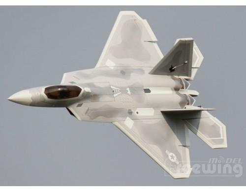 Freewing F-22 Raptor 90mm EDF Jet Kit Version With Full Servo