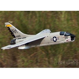 Freewing F-8 Crusader 64mm EDF Jet