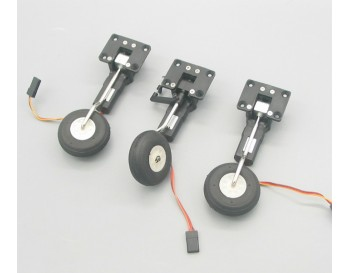Mini Electric Servoless Retract Landing Gear Set Type A With Nose Gear