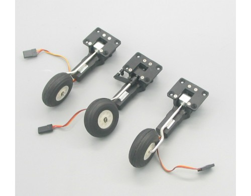 Mini Electric Servoless Retract Landing Gear Set Type B With Nose Gear