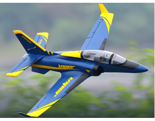 ROC Viper V2 Blue 70mm EDF Jet 6S PNP Version