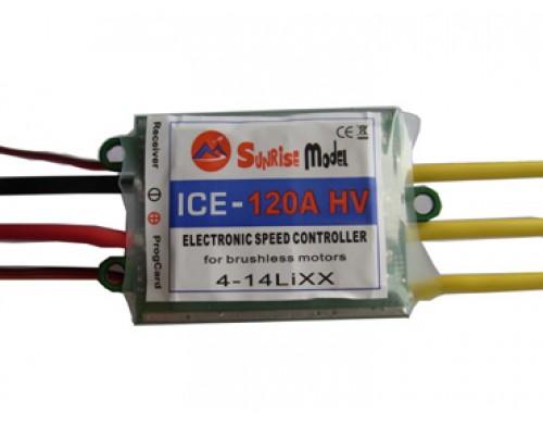 Sunrise Model Ice 120A HV Brushless ESC