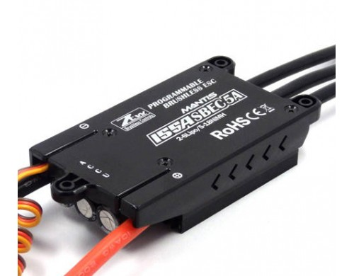ZTW Mantis 155A Brushless ESC With 5A Adjustable SBEC